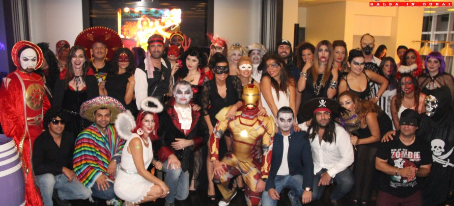 Halloween Salsa party 2014