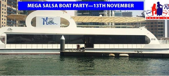 Salsa boat Party Dubai